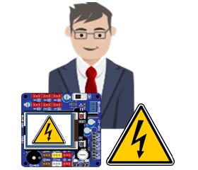 Diseño para seguridad eléctrica en equipos electrónicos