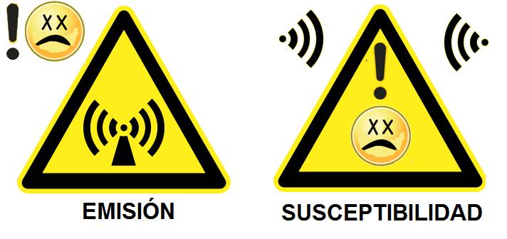 Emision y susceptibilidad electromagnetica