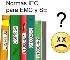 Normas IEC CISPR 32, CISPR 24, IEC 61000