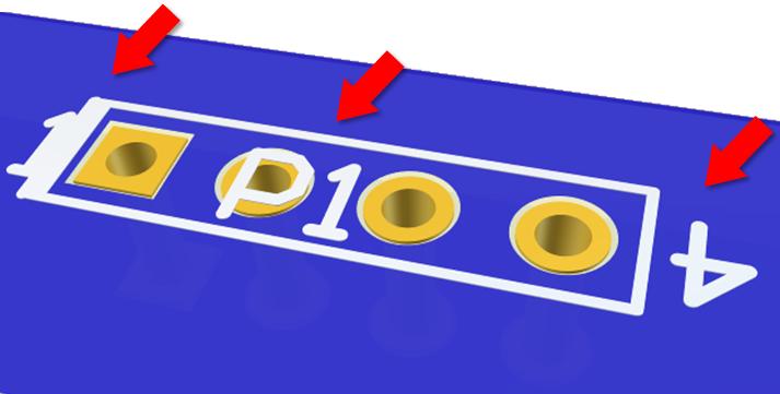IPC 600 defecto PCB screen en zonas prohibidas