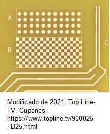 Cupon según la norma IPC 2221