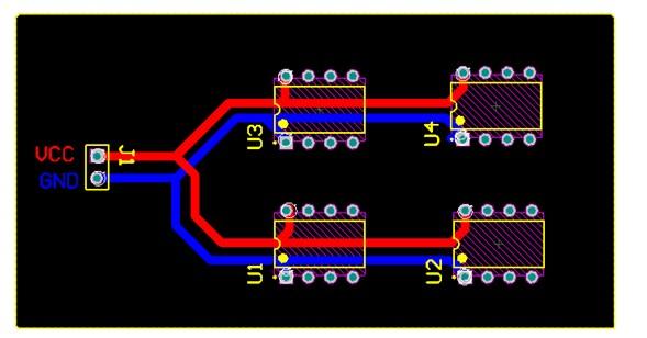 Diseño de PCB Enrutado o trazado de las pistas