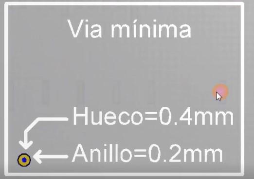 pcb via en altium