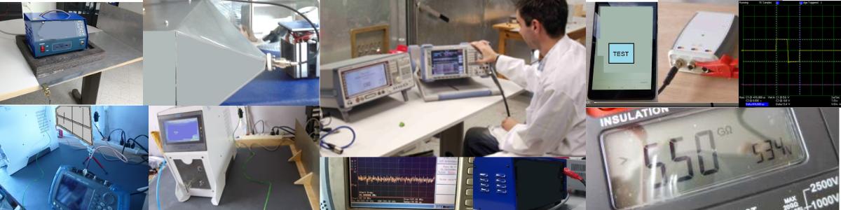 Ensayos compatibilidad electromagnetica y seguridad electrica para certificacion de producto