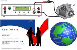 Laboratorio de ensayos de aparatos electronicos en normas IEC