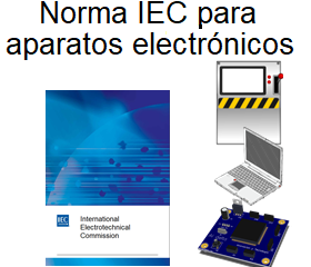 Norma IEC para aparatos y dispositivos electronicos