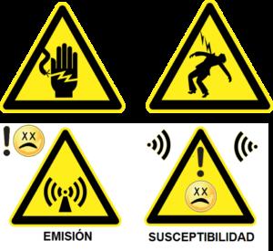 Seguridad Electrica Compatibilidad Electromagnetica de aparatos dispositivos equipos electronicos