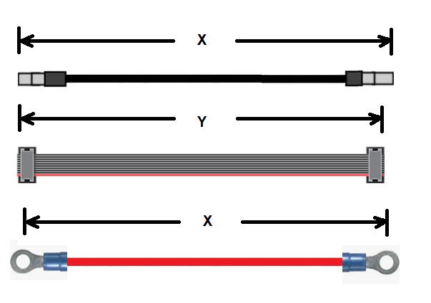 Guia cables electricos medicion y dimensiones usando la IPC WHMA 620