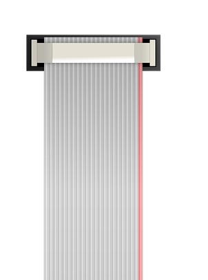 Las Conexiones de aislamiento desplazado o IDC Cable plano Ribbon de la norma IPC WHMA 620