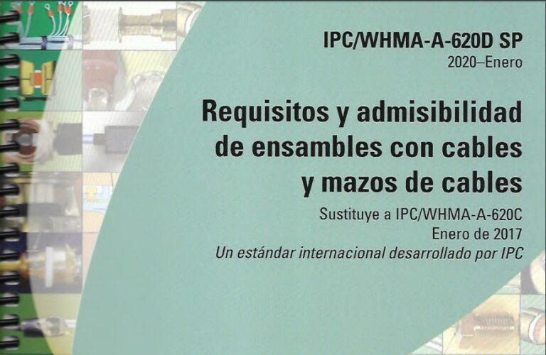 Norma IPC 620 D Español requisitos y admisbilidad de cables y arneses