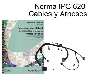 Norma IPC 620 para cables y arneses