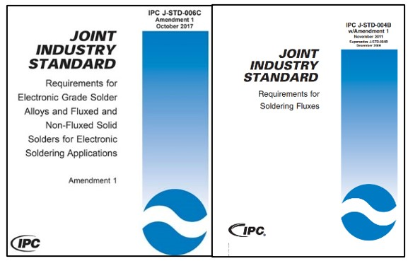 Normas relacionadas IPC JST 006 e IPC JST 004 para fabricacion de cables y arneses