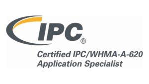IPC WHMA 620 Especialista IPC Certificado Logo para usar por quien se certifica