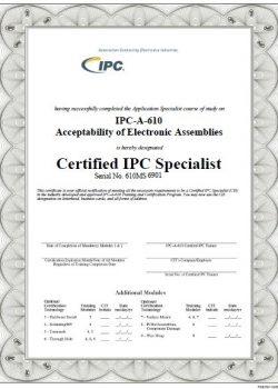 certificado ipc 610